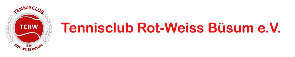 Tennisclub Rot-Weiss Büsum e.V. logo